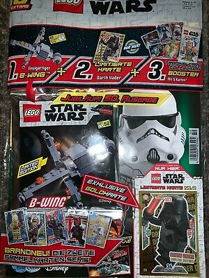 Legostar Wars Magazin Nr50 B Wing Limited Edition Neuovp