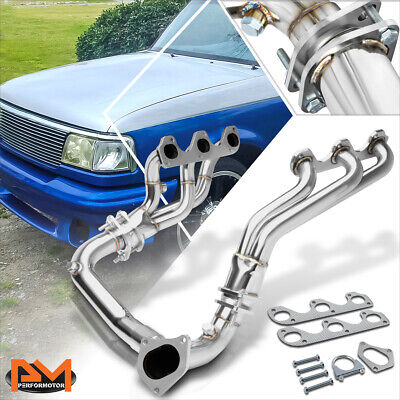 stainless exhaust manifold y pipe kit