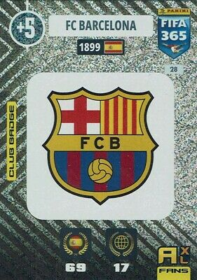 Panini Adrenalyn XL FIFA 365 2021 Nr. 28 Club Badge Barcelona