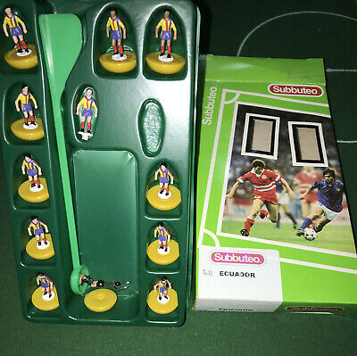 Subbuteo Lw Mp Team Ecuador Brand New Mint Condition In Good  Box