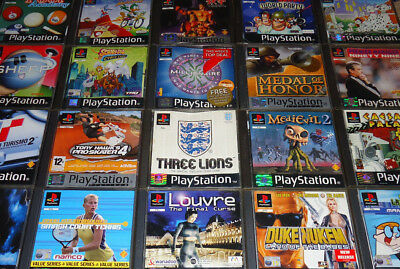 RARE   COLLECTABLE Playstation 1 Games PS1 Bundle       4 99   PicClick UK RARE   COLLECTABLE Playstation 1 Games PS1 Bundle