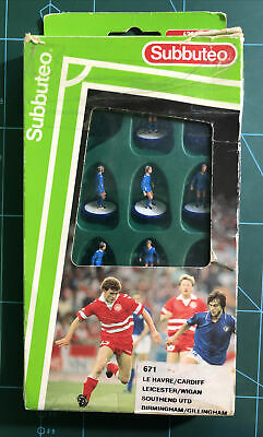 Subbuteo LW Team - Leicester City / Cardiff - Set 671