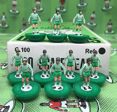 Subbuteo LW Team - Northern Ireland 2nd / Norwich City 2nd - Set 459 (NO BOX)