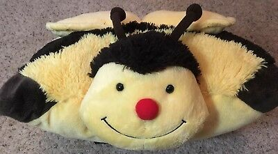 my pillow pets bumble bee plush fleece pillow pal pet 16 x 19