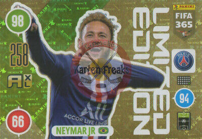 FIFA 365 * Panini Adrenalyn XL * 2021 * Limited * Neymar Jr
