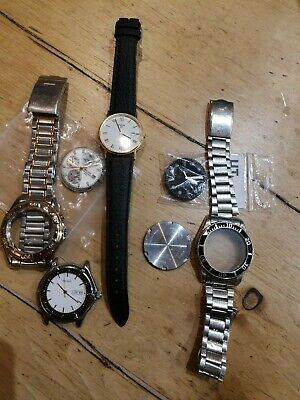 Vintage Pulsar Gents Divers Chronograph And Sports  Quartz Watch Spares Lot