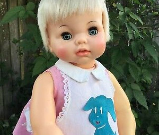 Ideal Real Life Lucy Doll  Tall Beautiful Original Dress