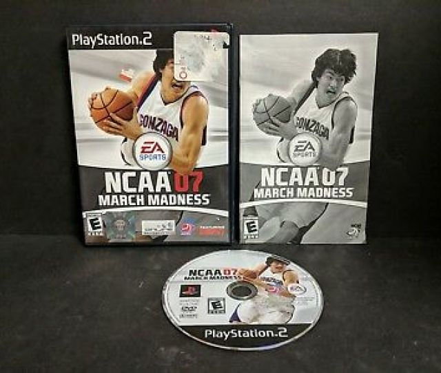 Ncaa March Madness 07 Sony Playstation 2 2007 Ps2 Complete