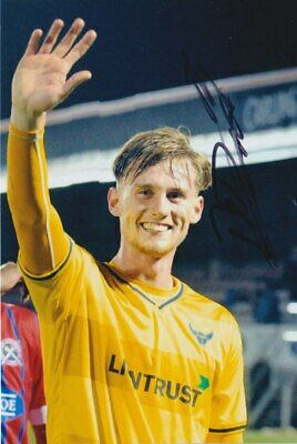 Robbie Cundy Hand Signed 6X4 Photo - Oxford United - Football Autograph
