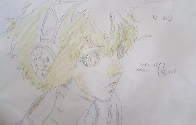 PERSONA 3 THE movie official animation cel repro douga MC    35 00     Persona 3 The Movie Aigis Official Repro Douga