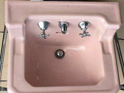 american standard sink with chrome legs