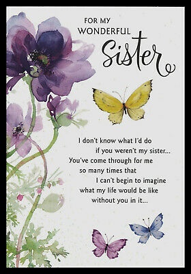 Fantasy Flowers Butterfly Flowers Happy Birthday Sister