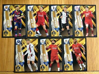Matchattax 101 2020 Limited Foil World Stars Golden Moments