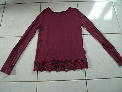 Arizona: flowing viscose shirt with lace, size.  140/146 / TOP