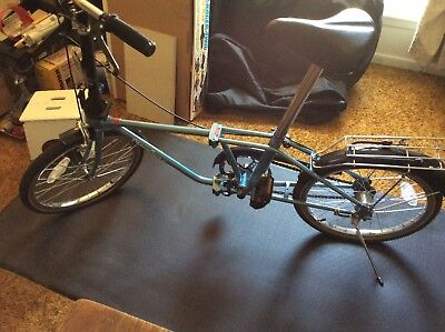 VINTAGE DAHON FOLDING Bike/Bicycle, 3 Speed, For Parts or ...