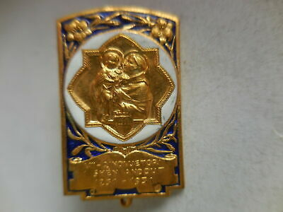 badge VII centenary death of St. Francis 1931