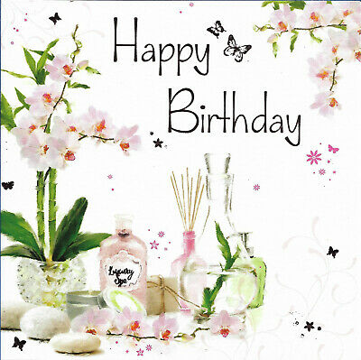 Open Female Happy Birthday Greeting Card 6 By 6 Orchid Free P P 2 55 Picclick Uk