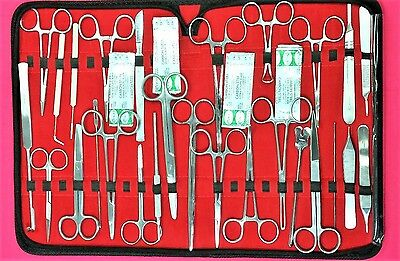 107 PC US Military Field Minor Surgery Surgical Veterinary Dental     107 Pc Us Military Field Minor Surgery Surgical Veterinary Dental  Instrument Kit