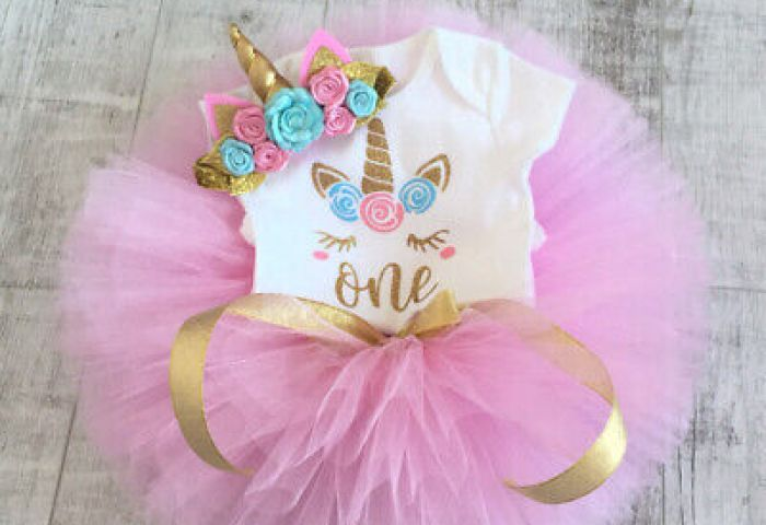 Toddler Baby Girl 1st Birthday Cake Smash Outfits Princess Romper