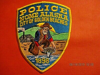 Collectible Alaska Police Patch,Nome,New