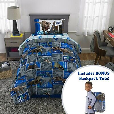 twin or full bed set kids boys bedding