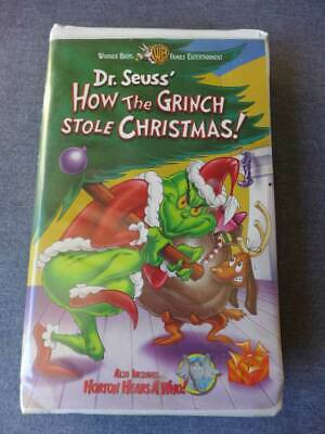warner bros dr seuss how the grinch stole christmas vhs - How The Grinch Stole Christmas Vhs