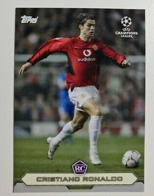 Topps The Lost Rookie Cards - Cristiano Ronaldo - Manchester United - RC Rookie