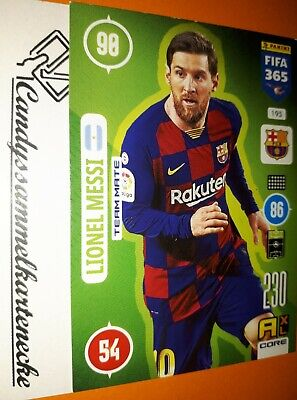 Panini Adrenalyn XL FIFA 365 2021 Team Mate Nr.195 Lionel Messi