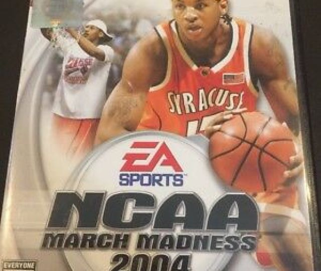 Ps2g384 Ncaa March Madness 2004 Sony Playstation 2 2003