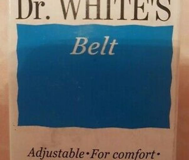 Dr Whites Sanitary Belt Brand New In Box For Use With Looped Towels