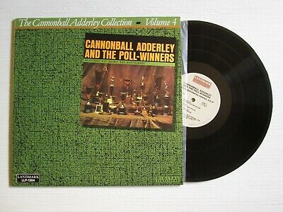 CANNONBALL ADDERLEY Collection Volume 4 LP USA PRESS WES MONTGOMERY