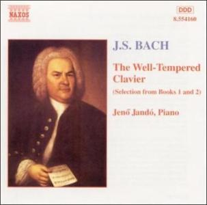 STEVE FERGUSON   Well Tempered Piano 1  New CD        13 96   PicClick UK Bach  The Well Tempered Clavier  Selections From Books 1   2  New