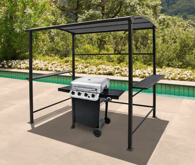 Patio Bbq Grill Gazebo Awning X  Outdoor Canopy With Single