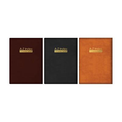 A - Z-index leather sleeve boss padded address book Various colors & size