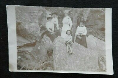 Genuine 1912 Victorian Postal Woman Cppr Bear Creek Al Alabama Beautiful Shape