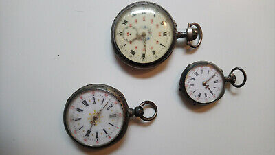 Lots of 3 old pocket watches _ lot N ° 3