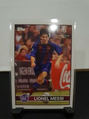 Topps Lost Rookie Lionel Messi Fc Barcelona