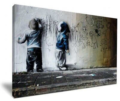 kid behind the curtain by banksy hd