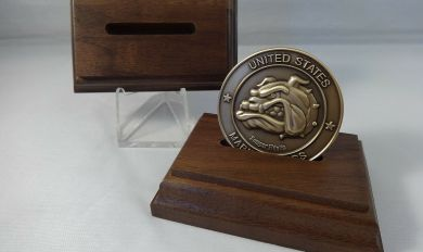Wood Coin Holder | Wooden Thing