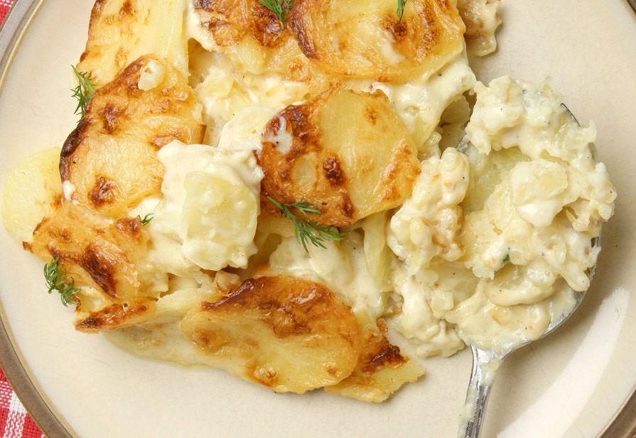 Patate panna e formaggio