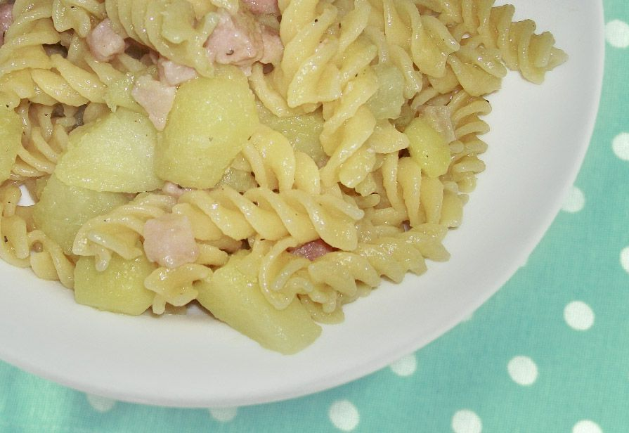 Fusilli spek e patate
