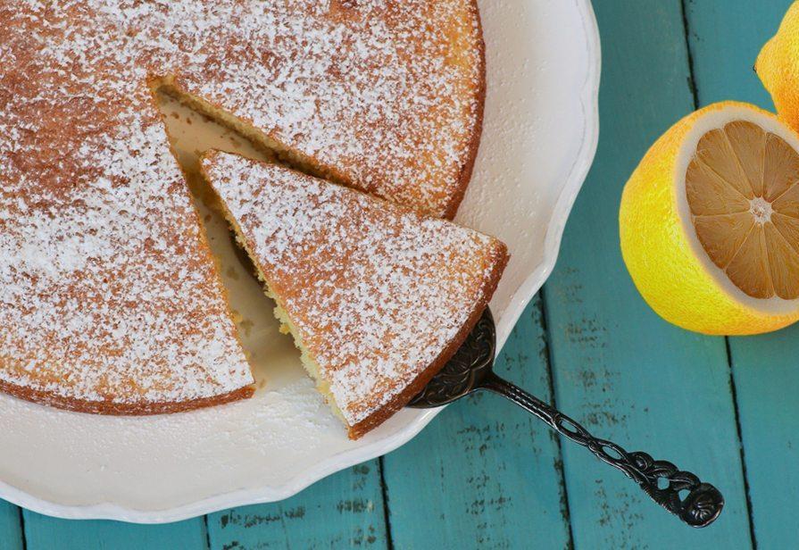 Torta al limone super veloce