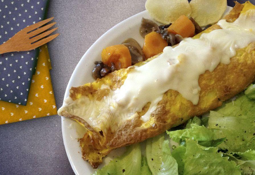 Omelette mari e monti