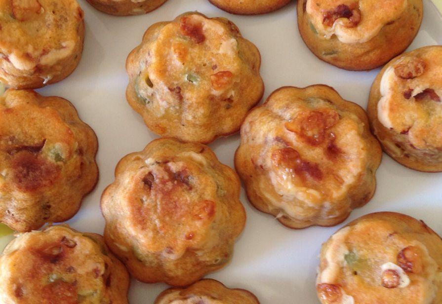 Muffin ai pomodori secchi