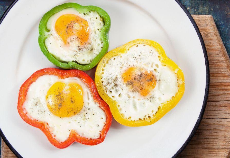 Uova in cornice