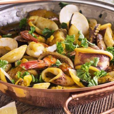 Curry di mare