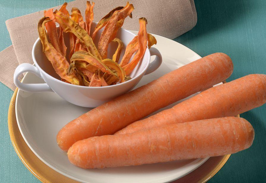 Chips di carota