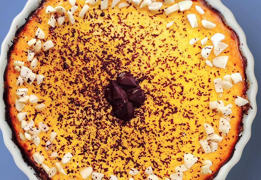 Ricotta cake agli amaretti