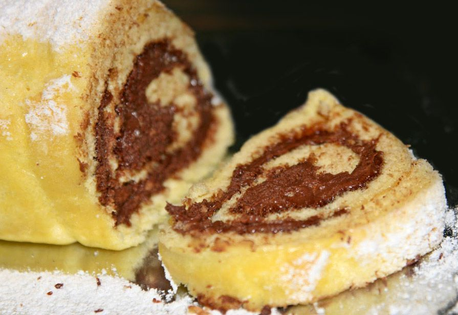 Rotolone alla Nutella