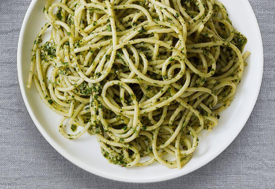 Spaghetti alle erbette